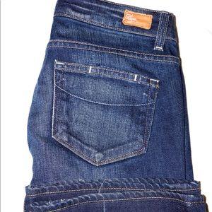Paige Navy blue jeans premium denim size 27